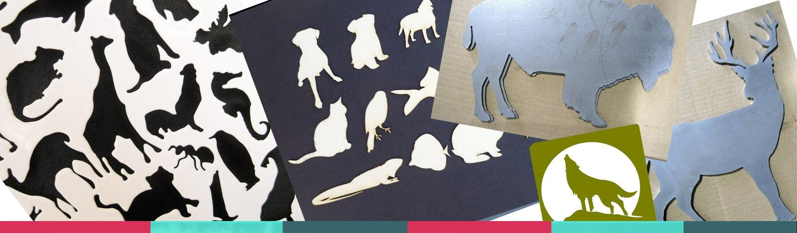 Die Cut Animal Shapes