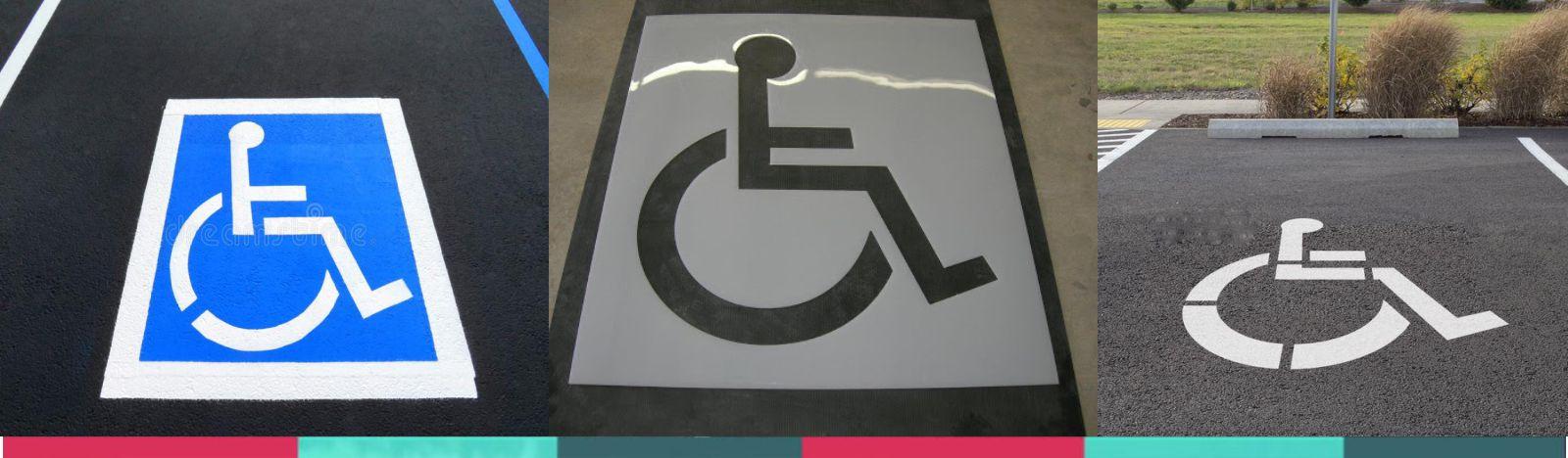 stencils for handicap parking - precision cutting services-1